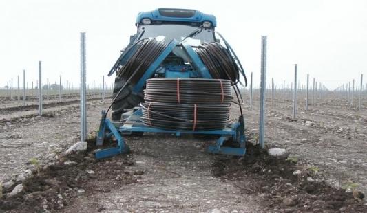 Navodnjavanje vinograda direktno pod korijen sistemom Irigazione Veneto