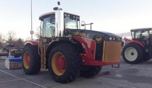 Proljetni hit u Bjelovaru: Kanadsko ruska korporacija predstavlja traktore i kombajne