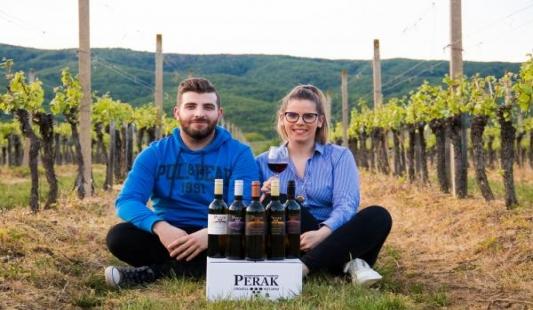 Ledeno vino Perak šampion Izložbe vina kontinentalne Hrvatske